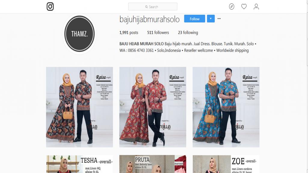 4 Produk Yang laku Di Instagram