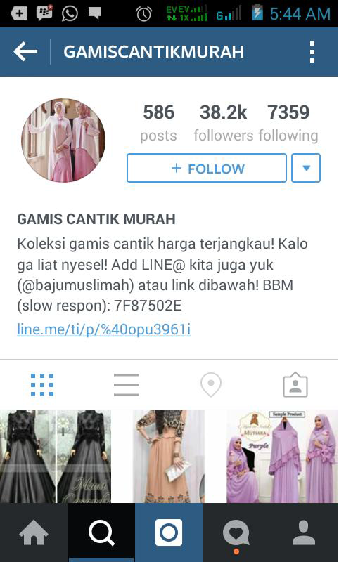 Mencari Follower Tertarget di Instagram