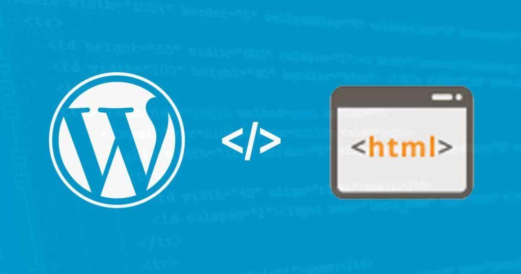 perbedaan wordpress atau html